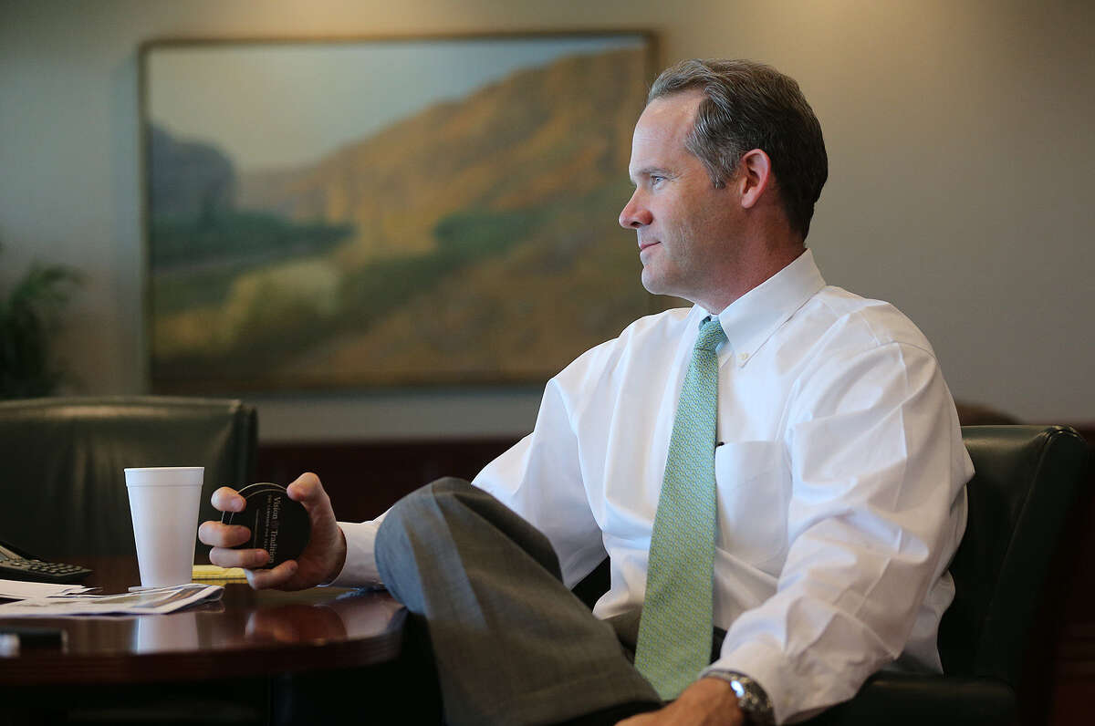 NuStar Energy CEO Brad Barron served as NuStar's general counsel for more than six years and was promoted to executive vice president in 2012.