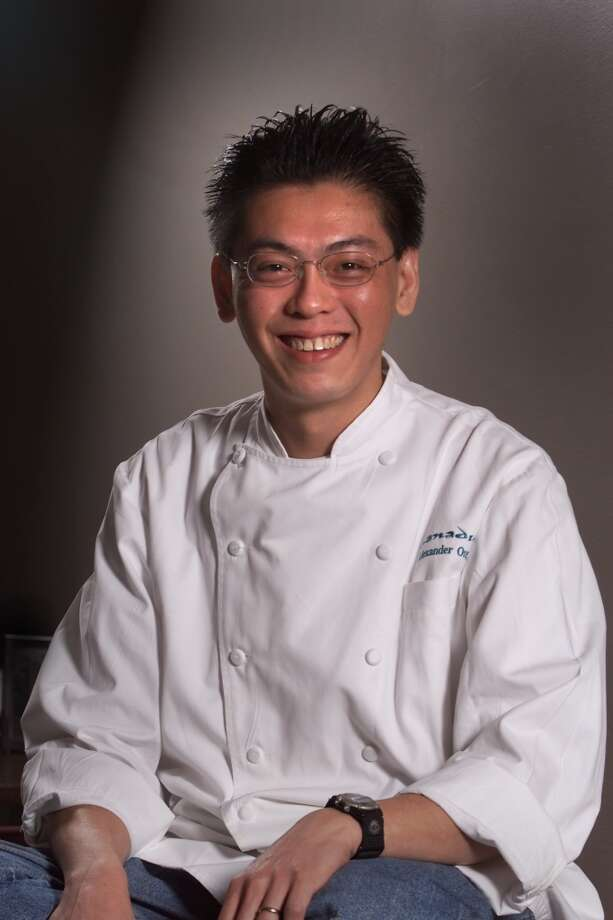 Alexander Ong, 2000. Then: Chef at Xanadu. Now: Former chef at Betelnut Photo: VINCE MAGGIORA, SFC
