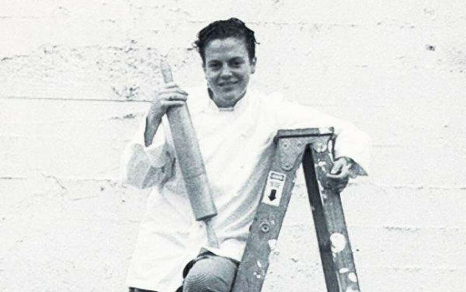 Traci Des Jardins, 1994.   Then: 28-year-old chef at newly opened Rubicon.  Now: Chef-owner of Jardiniere.