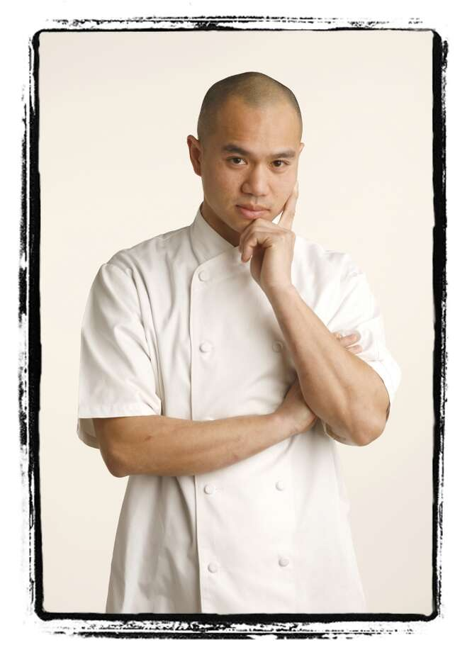 James Syhabou, 2007. Then: Chef at PlumpJack Cafe. Now: Chef-owner of Michelin-starred Commis, Hawker Fare, and Box & Bells. Photo: Craig Lee, SFC