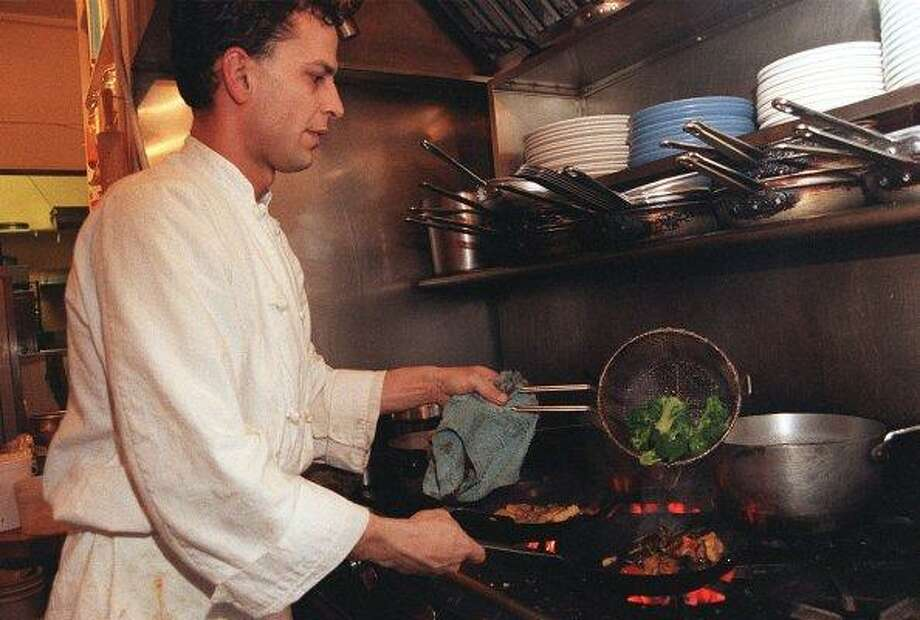 Brad Levy, 1994.  Then: Chef-owner of newly opened Firefly.  Now: Chef-owner of 20-year-old Firefly.