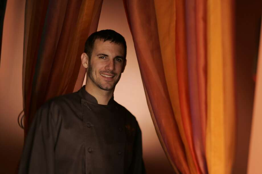 David Bazirgan, 2004. Then: Chef at Baraka. Now: Chef at Dirty Habit. Photo: Craig Lee, SFC