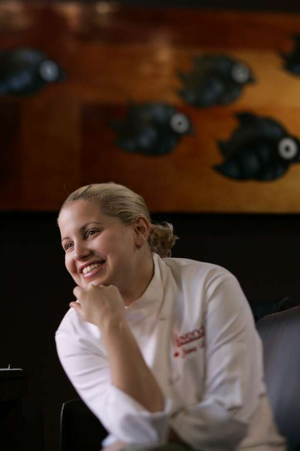Jamie Lauren, 2004. Then: Chef at Levende Lounge Now: Somewhere in LA. Photo: Craig Lee, SFC