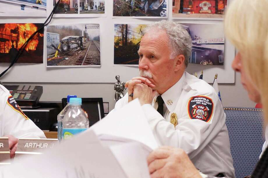 The Fire Commission Friday night voted to not renew Deputy Chief Art Reid's contract when it expires in December. Photo: Contributed Photo, Genevieve Reilly / Fairfield Citizen