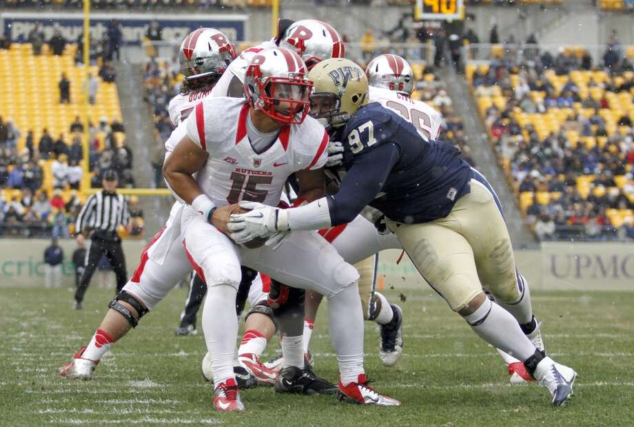 Aaron Donald | Defensive Tackle | Pittsburgh Donald would give the Hawks a phenomenal pass-rush threat inside, replacing the departed Clinton McDonald in the middle of the defensive line. That's why Charles Davis of NFL.com has Seattle taking him No. 32 overall, though most analysts have Donald coming off the board much sooner than that. Photo: Justin K. Aller, Getty Images