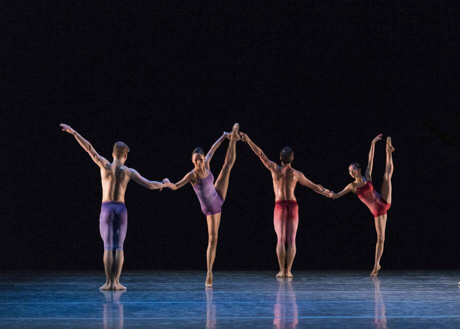 "Igal Perry's ""Infinity,"" set to a Beethoven piano sonata, is danced by members of Ballet San Jose. Photo: Alejandro Gomez"