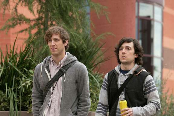 SILICON VALLEY: Thomas Middleditch, Josh Brener.