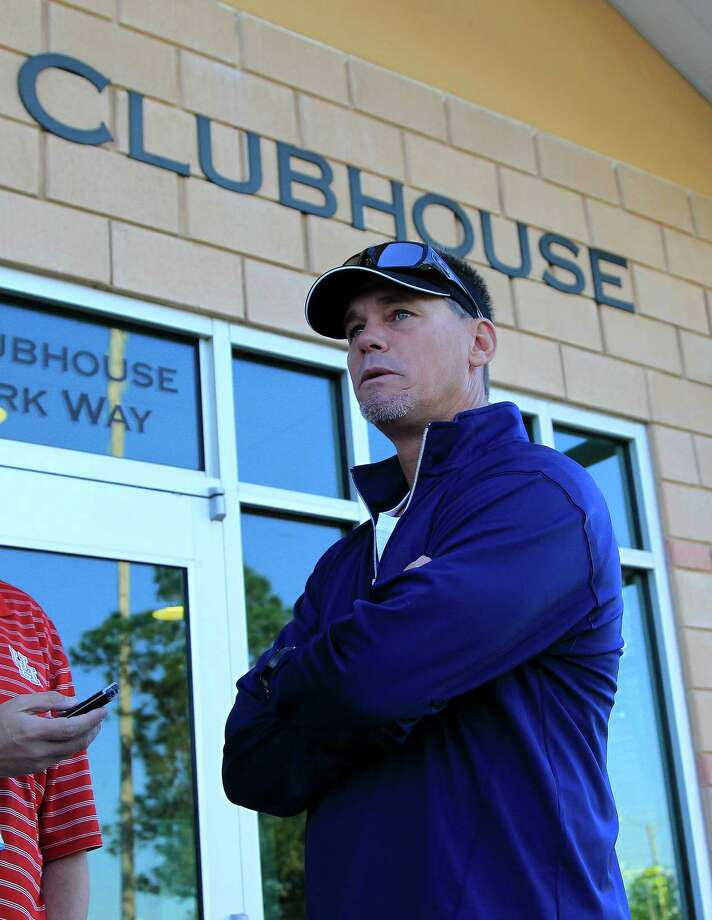 Craig Biggio, the all-time Astros hits leader, is a special adviser to general manager Jeff Luhnow. Photo: Karen Warren, Staff / © 2013 Houston Chronicle