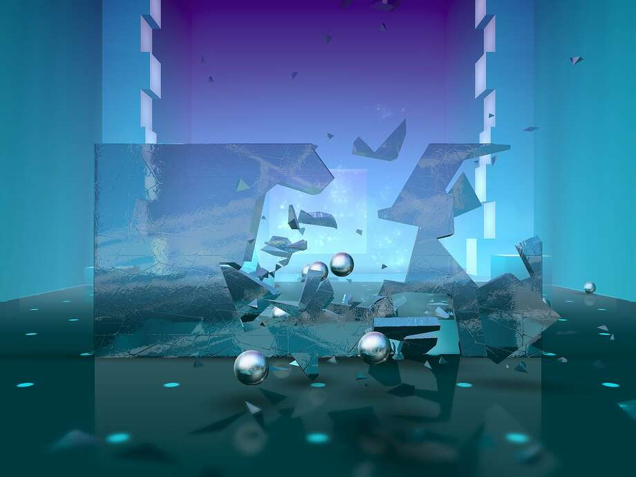 A screenshot of Smash Hit, a mobile game for both iOS and Android devices. Photo: Mediocre AB