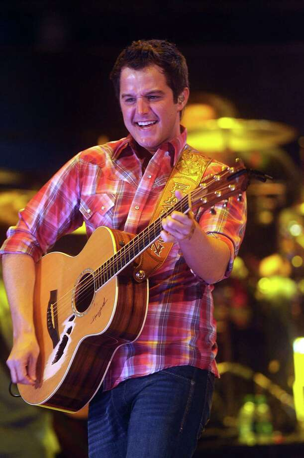 Easton Corbin performs at the Houston Livestock Show & Rodeo Friday March 21, 2014. Photo: Dave Rossman, For The Houston Chronicle / Freelance