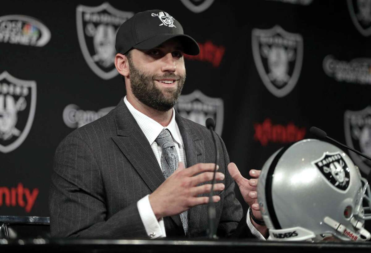 The Raiders acquired former Texans quarterback Matt Schaub, who lost his starting job during the 2-14 season.