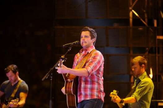 Easton Corbin, March 21  Corbin was backed by a solid band that showcased more fiddle and steel guitar than any recent RodeoHouston set. Photo: Dave Rossman, For The Houston Chronicle