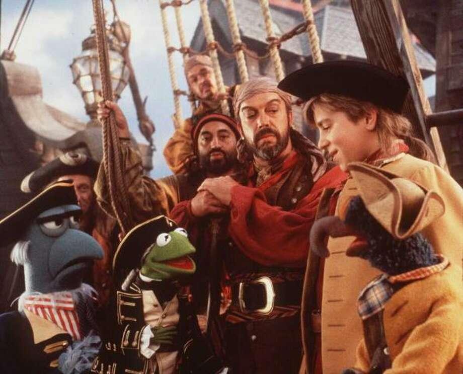 Muppet Treasure Island.  1996 Photo: Getty Images