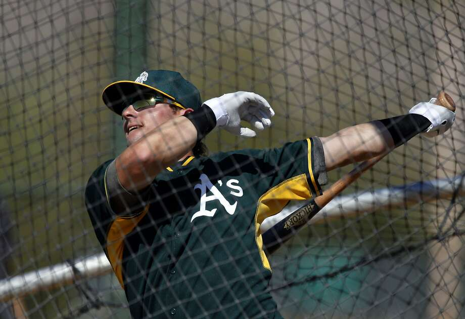 After finishing fourth in MVP voting, Josh Donaldson came to spring training with the same intensity, an AL scout said. Photo: Michael Macor, The Chronicle