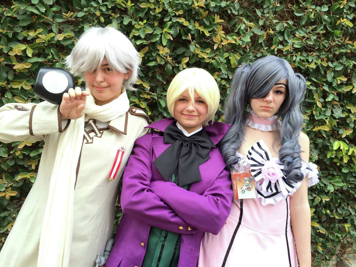 Anime and cosplay fans flocked to Mizuumi-Con at Our Lady of the Lake University.