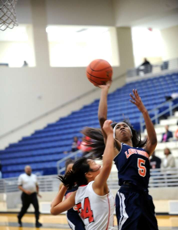Girls Second Team  Crystal Chidomere Sr., G, Bush Photo: Eddy Matchette, For The Chronicle