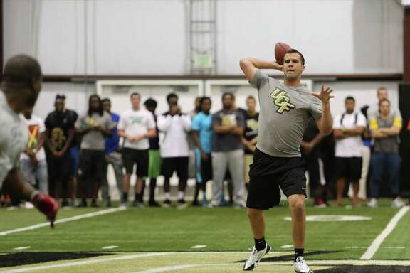 By all accounts, Blake Bortles turned in an impressive pro-day workout Wednesday on Central Florida's campus. But will it improve his draft stock?