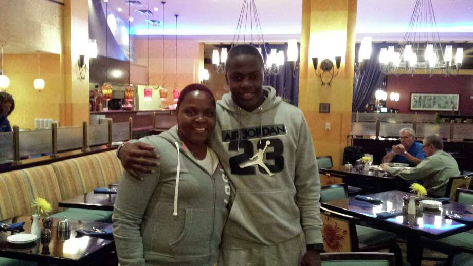 Quarterback Teddy Bridgewater's small inner circle includes first and foremost his mother, Rose Murphy. Photo: Brian T. Smith