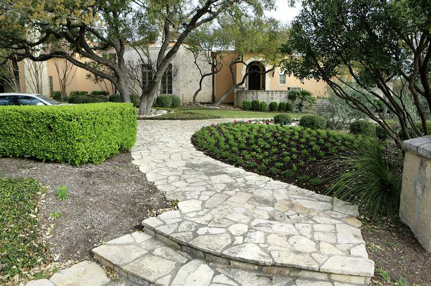 The home of Leslie Negley the #1 top water user in the San Antonio Water System, Friday, March 21, 2014.