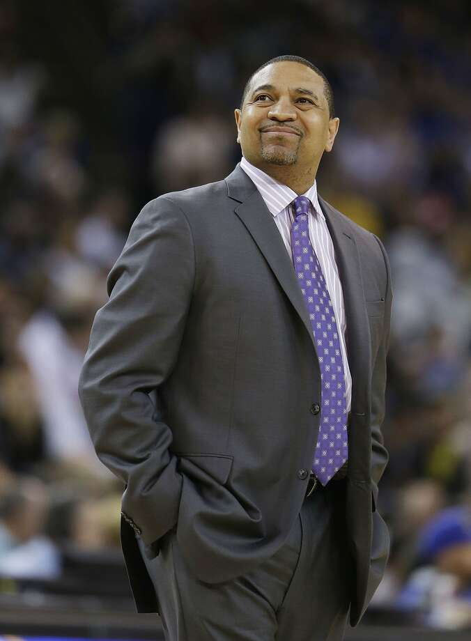 Coach Mark Jackson never minds playing the Spurs, whom he figures make his Warriors a better team. San Antonio has defeated Golden State 51 of the past 59 times they've met. Photo: Eric Risberg, Associated Press