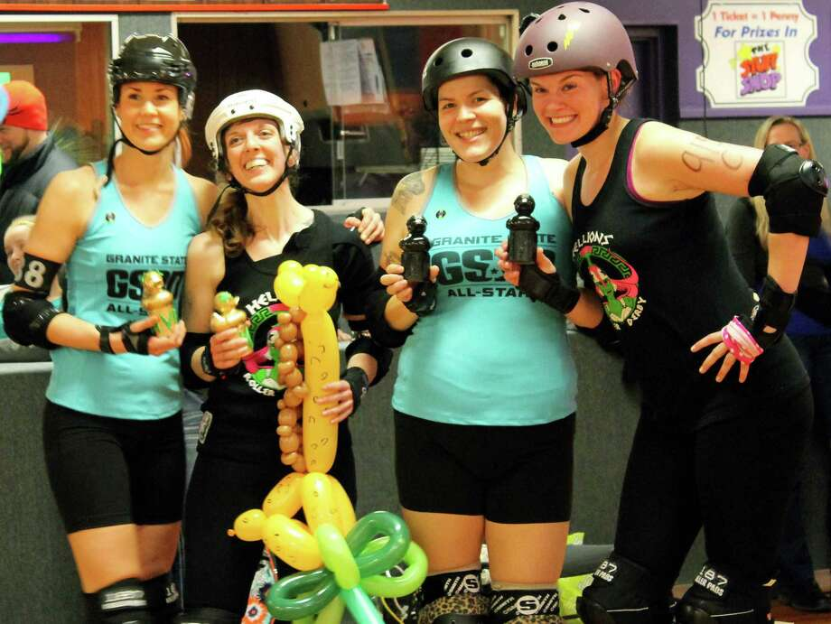 """Were You Seen at the Hellions of Troy Roller Derby's first bout of the season at Rollarama in Schenectady on Saturday, March 22, 2014? Photo: Alana O'Hair """"Vulcanizer"""""""