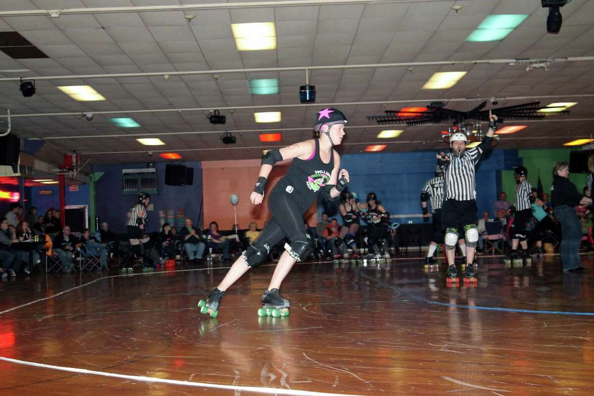 Were You Seen at the Hellions of Troy Roller Derby's first bout of the season at Rollarama in Schenectady on Saturday, March 22, 2014?