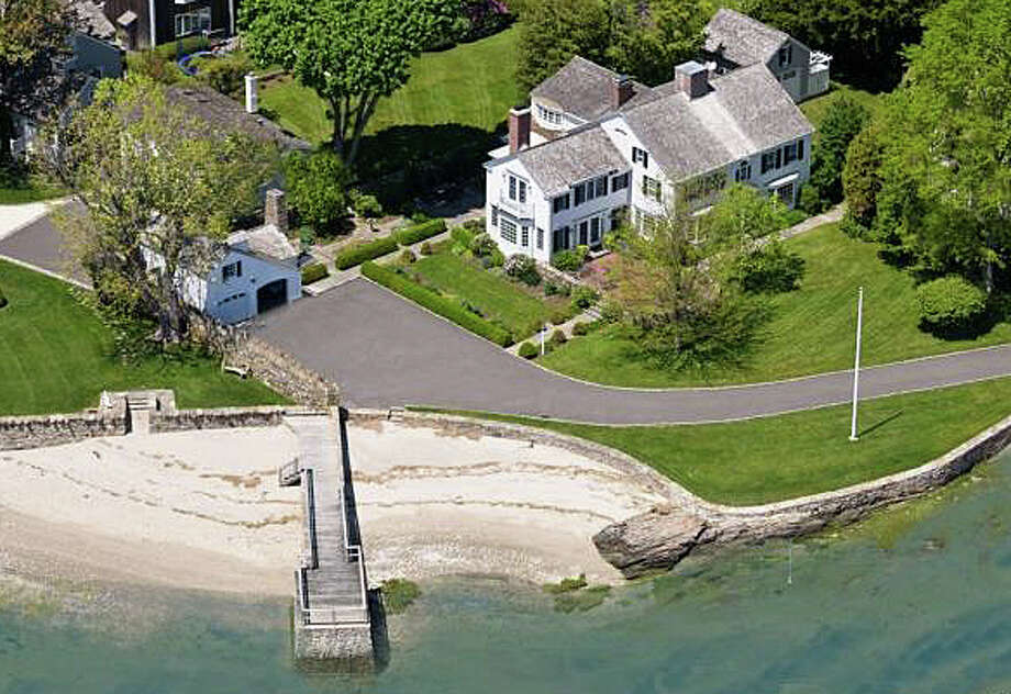 The property at 1110 Harbor Road recently was sold for $4.7 million. Photo: Contributed Photo / Fairfield Citizen