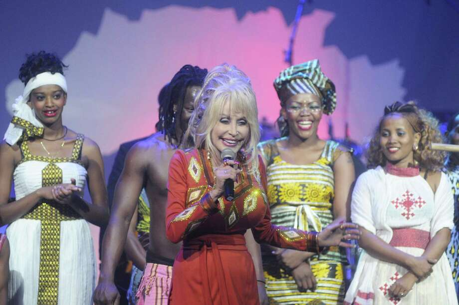"Dolly Parton makes an appearance after the ""Mother Africa"" show on opening day at Dollywood in Pigeon Forge, Tenn. Friday March 21, 2014. Photo: Curt Habraken, AP / AP2014"