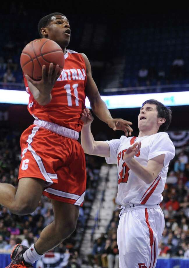 Tyler Ancrum, Central.FCIAC Player of the Year. FCIAC First Team. Photo: Tyler Sizemore / The News-Times