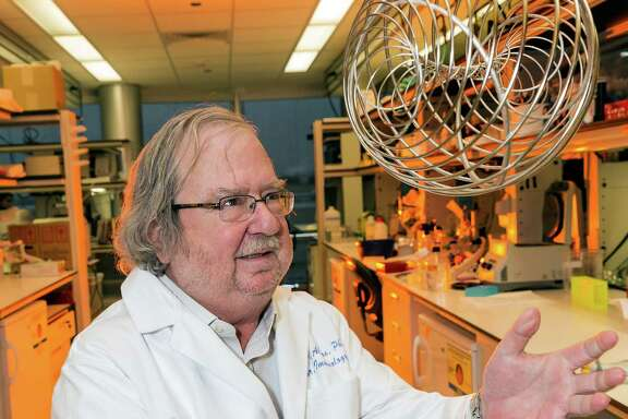 M.D. Anderson researcher Jim Allison's work on cancer immunotherapy earned him the 2014 Breakthrough Prize in Life Sciences, and $3 million. (Craig H. Hartley / For the Chronicle)