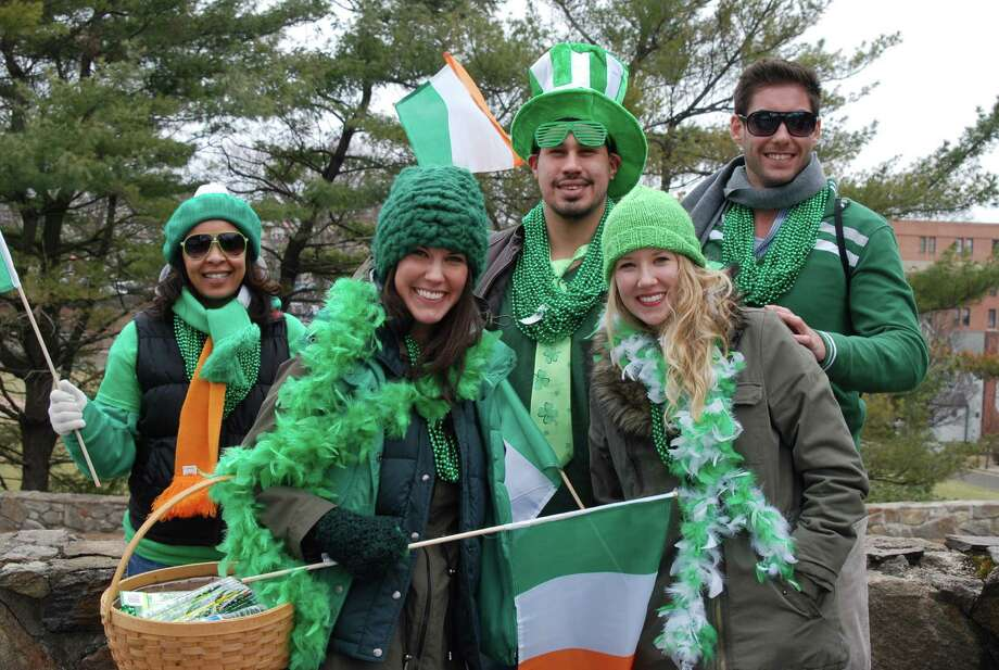 Were you SEEN at the Greenwich St Patrick's Day parade on Sunday, March 23? The parade is an annual event sponsored by the Greenwich Hibernian Association. Photo: Barkey Powell/Hearst Media Group