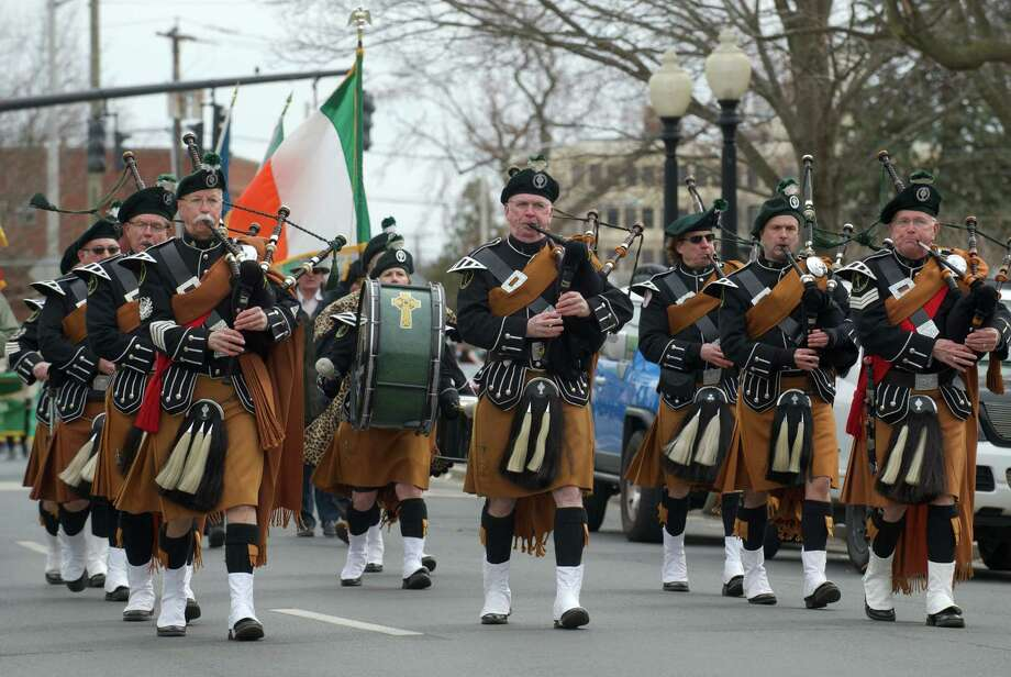 The Danbury St. Patrick's Day Parade, held on March 23, 2014, started at Rogers Park, moved down Main Street turned onto West Street, ending at the Greater Danbury Irish Cultural Center on Lake Avenue in Danbury, Conn. Photo: H John Voorhees III / The News-Times Freelance