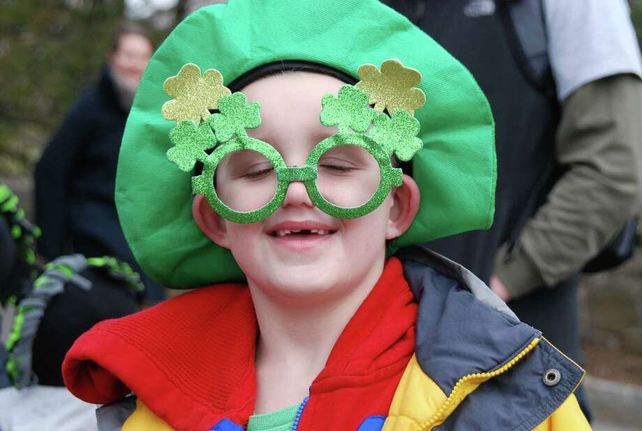 Were you SEEN at the Greenwich St Patrick's Day parade on Sunday March 23d? The parade is an annual event sponsored by the Greenwich Hibernian Association. Photo: Barkey Powell/Hearst Media Group