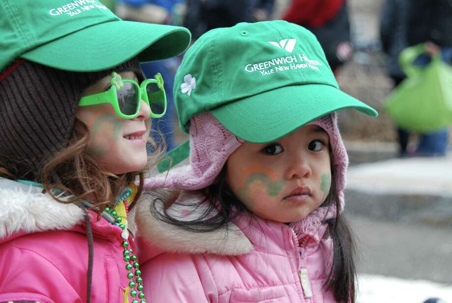 Were you SEEN at the Greenwich St. Patrick's Day parade on Sunday, March 23d? The parade is an annual event sponsored by the Greenwich Hibernian Association. Photo: Barkey Powell/Hearst Media Group