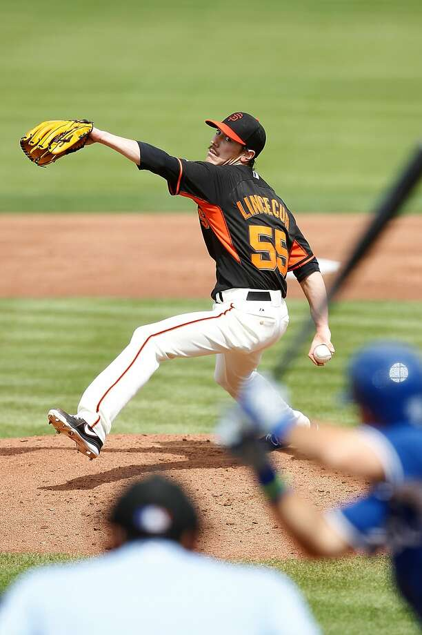 "Tim Lincecum was hammered for 11 hits in 42/3innings by the Royals. It was ""not at all what I was looking for,"" he said. Photo: Sarah Glenn, Getty Images"