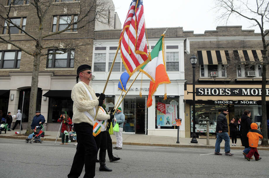 Greenwich's 40th St. Patrick's Day Parade in Greenwich, Conn., March 23, 2014. The parade sets off from the Town Hall and finishes at the bottom of Greenwich Avenue. Photo: Keelin Daly / Stamford Advocate Freelance