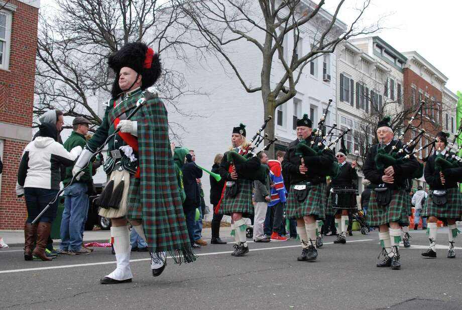 Were you SEEN at the Greenwich St Patrick's Day parade on Sunday, March 23d? The parade is sponsored by the Greenwich Hibernian Association. Photo: BarkeyPowell/Hearst Connecticut Media Group