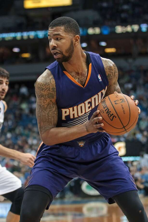 Markieff Morris scored 25 points to lead the Suns. Photo: Brad Rempel, Reuters