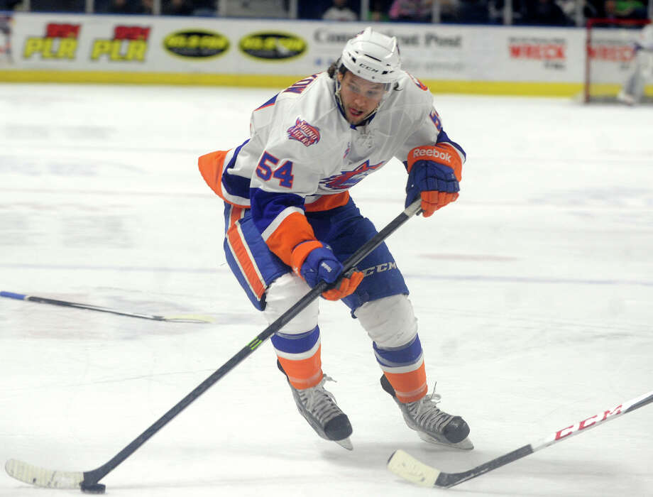 The Sound Tigers face the Hartford Wolf Pack Sunday, March 30 at Webster Bank Arena in Bridgeport. The action starts at 3:00. Click here for ticket information.  Photo: Brian A. Pounds / Connecticut Post