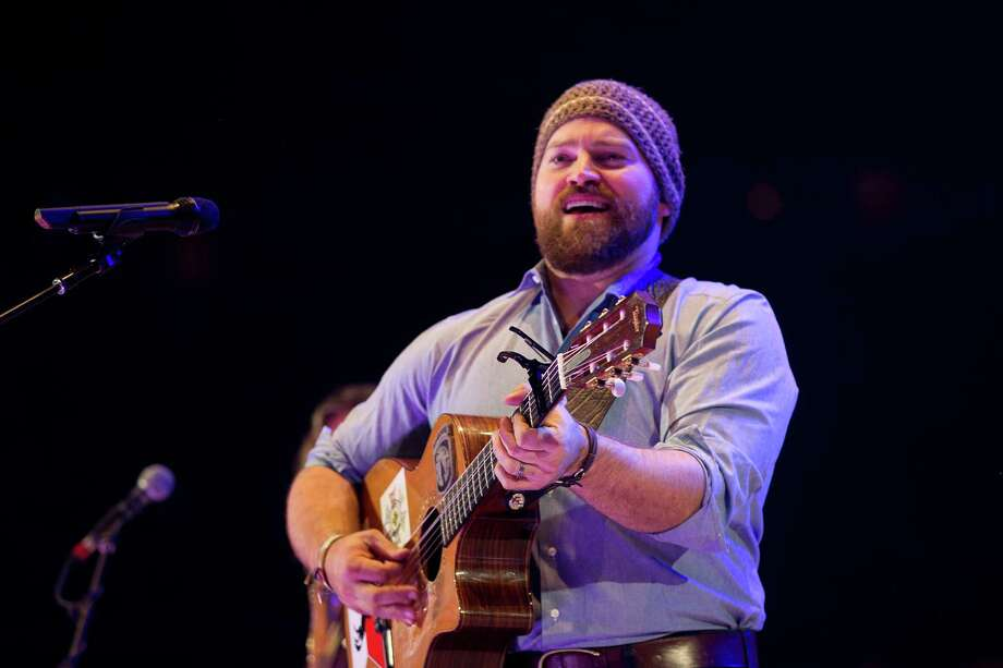 Zac Brown of The Zac Brown Band performs during RodeoHouston in Reliant Stadium Sunday, March 23, 2014, in Houston. Photo: Johnny Hanson, Houston Chronicle / © 2014  Houston Chronicle