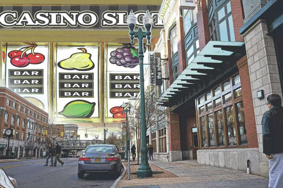 Schenectady casino. Photo Illustration by Tyswan Stewart / Times Union