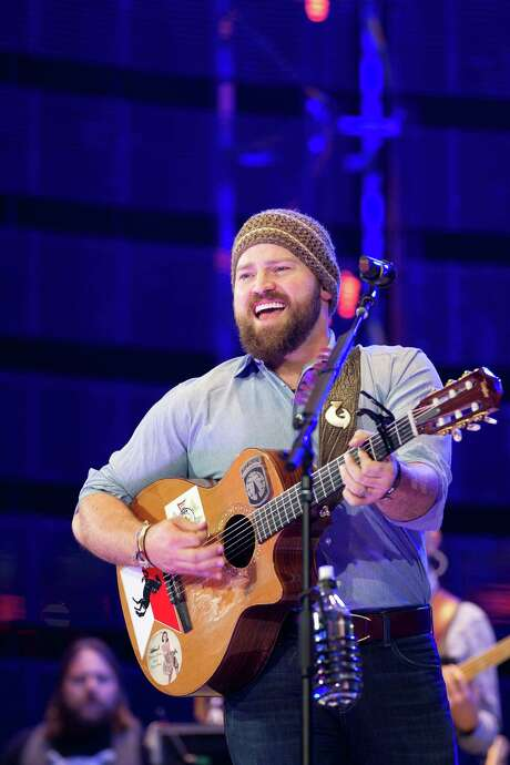 Zac Brown Band's fourth consecutive RodeoHouston appearance was a crowd-pleaser, with frontman Zac Brown delivering punchy harmony - with a skull cap, of course. Photo: Johnny Hanson, Staff / © 2014  Houston Chronicle