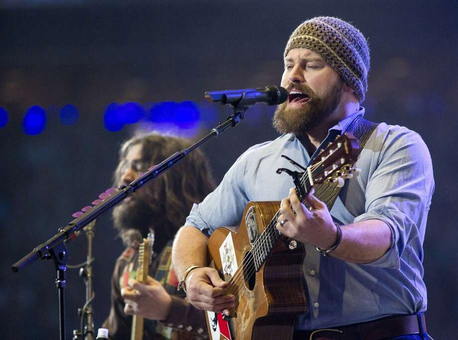 The Zac Brown Band performs during RodeoHouston in Reliant Stadium Sunday, March 23, 2014, in Houston. Photo: Johnny Hanson/Houston Chronicle