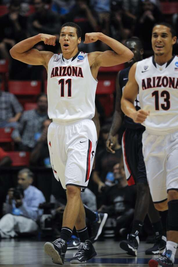 March 23: Third round  No. 1 Arizona 84, Gonzaga 61 The Wildcats reach the Sweet 16 for the third time in four seasons. Photo: Denis Poroy, Associated Press