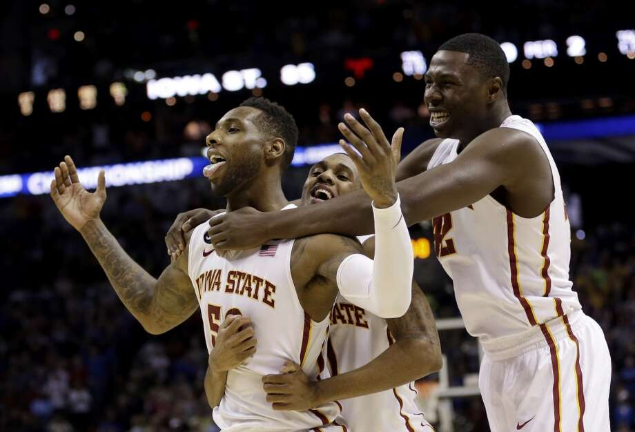 March 23: Third round  No. 3 Iowa State 85, North Carolina 83 The Cyclones earned a trip to the Sweet 16 in a back-and-forth affair versus the Tarheels. Photo: David J. Phillip, Associated Press