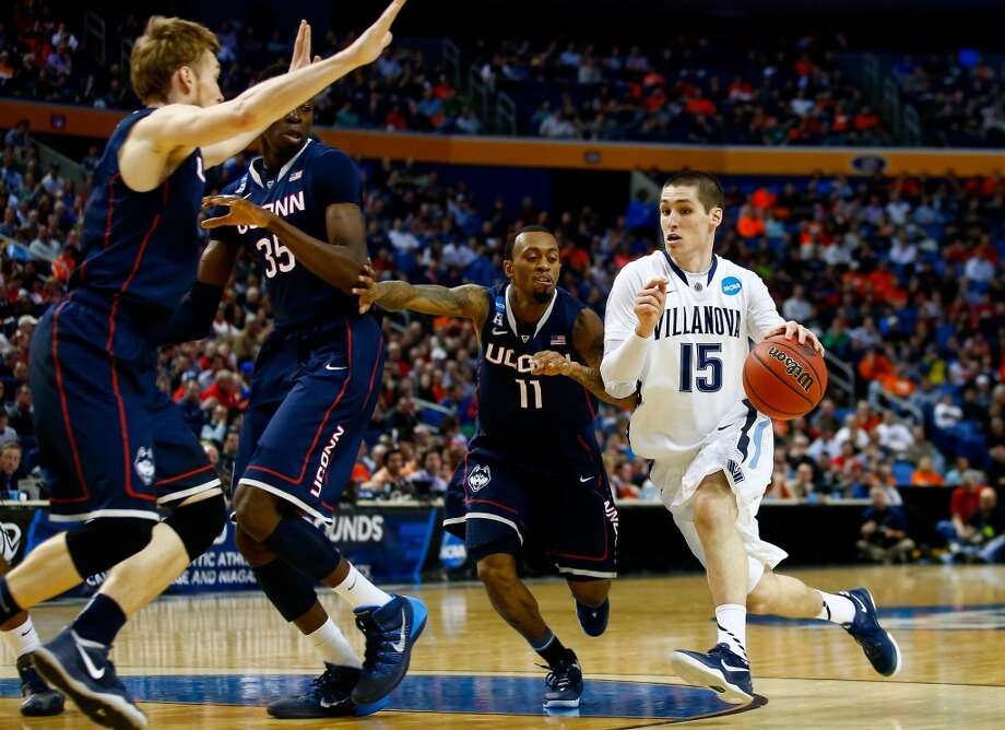 March 22: Third round  No. 4 Connecticut 77, Villanova 65 Shabazz Napier of the Huskies had 25 points which helped get UConn back to the Sweet 16. Photo: Jared Wickerham, Getty Images