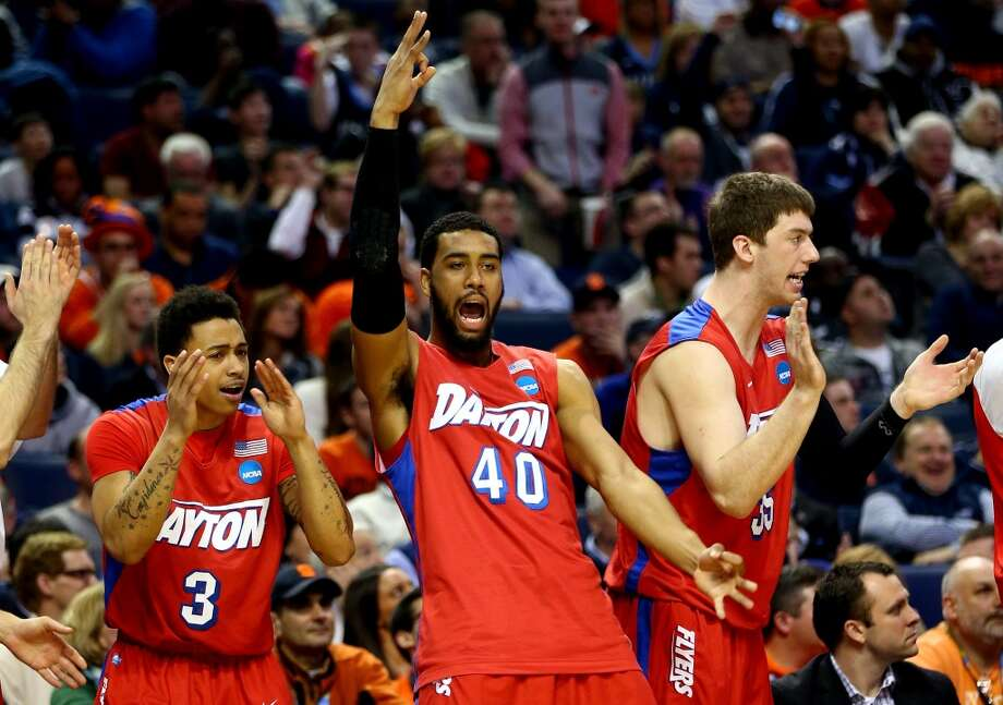 March 22: Third round  No. 11 Dayton 55, Syracuse 53 The Flyers survived a nail-biter against the Orange. Photo: Elsa, Getty Images