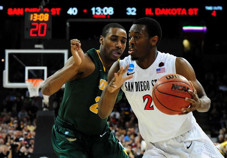 March 22: Third round  No. 4 San Diego State 63, North Dakota State 44 Xavier Thames had 30 points and led the Aztecs to the Sweet 16 over the Bison. Photo: Steve Dykes, Getty Images
