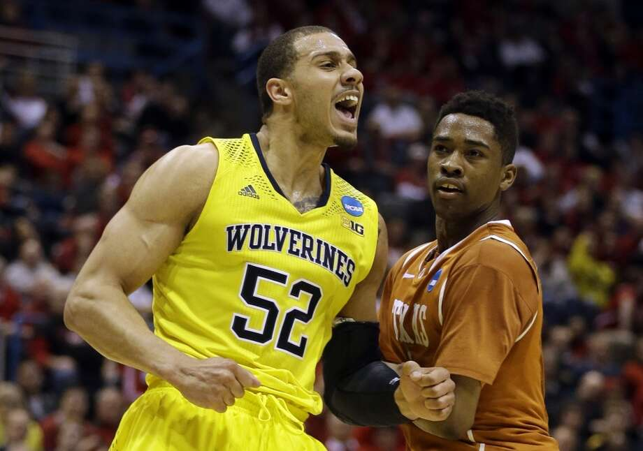 March 22: Third round  No. 2 Michigan 79, Texas 65 The Wolverines return to the Sweet 16 for the second straight season after downing the Longhorns. Photo: Jeffrey Phelps, Associated Press