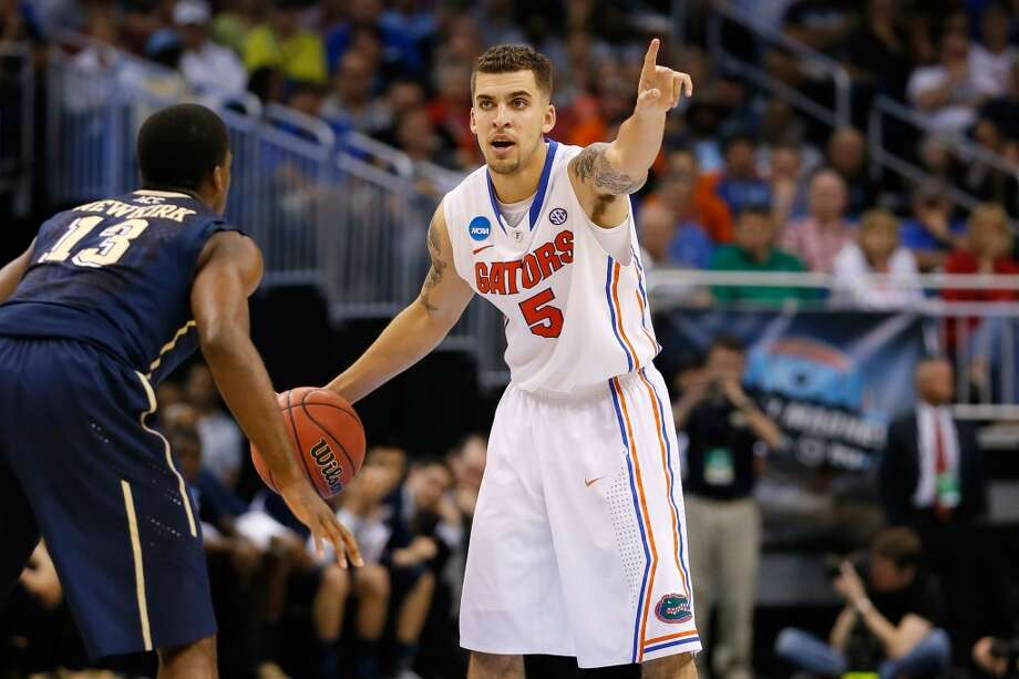 March 22: Third round  No. 1 Florida 61, No. 9 Pittsburgh 45 Guard Scottie Wilbekin pointed the top-seeded the Gators to the Sweet 16. Photo: Kevin C. Cox, Getty Images